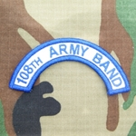 108th Army Band Tab, A-1-1037