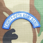 85th Army Band Tab, A-1-1035