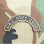 208th Army Band Tab, A-1-1034