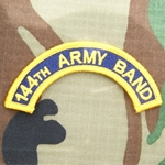 144th Army Band Tab, A-1-1033