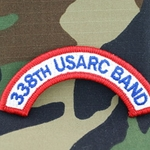 338th USARC Band Tab, A-1-1032