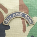 100th Army Band Tab, A-1-1021