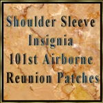 101st Airborne Reunion Patches