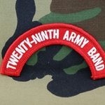 29th Army Band Tab, A-1-890