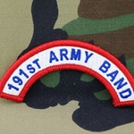 191st Army Band Tab, A-1-991