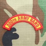 300th Army Band Tab, A-1-1001