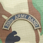 313th Army Band Tab, A-1-1004