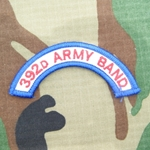 392nd Army Band Tab, A-1-1016