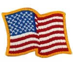 Novelty United States Flags Patches