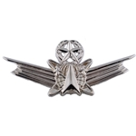 Badge, Occupational, Space, Air Force / Army, Basic, Senior and Master Regular size, Brite