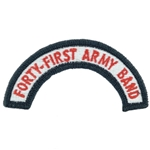 41st Army Band Tab, A-1-969