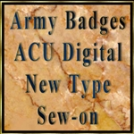 ACU Sew-on New Type