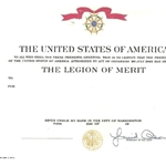 Legion of Merit, Army, Type 1