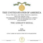 Airman's Medal, Air Force