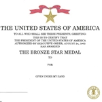 Bronze Star Medal, Air Force