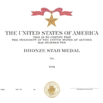 Bronze Star Medal, Navy, Type 2