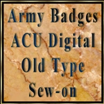 ACU Sew-on Old Type