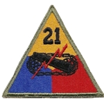 21st Armored Division, A-1-350