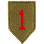 Infantry Division Shoulder Sleeve Insignia in OCP / MultiCam® / Scorpion with Velcro®