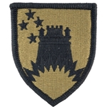 Maneuver Enhancement Brigade Shoulder Sleeve Insignia in OCP / MultiCam® / Scorpion with Velcro®