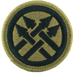 Military Police Shoulder Sleeve Insignia in OCP / MultiCam® / Scorpion with Velcro®
