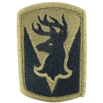 Infantry Brigade Shoulder Sleeve Insignia in OCP / MultiCam® / Scorpion with Velcro®