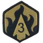 Chemical Shoulder Sleeve Insignia in OCP / MultiCam® / Scorpion with Velcro®