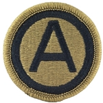 Army Shoulder Sleeve Insignia in OCP / MultiCam® / Scorpion with Velcro®