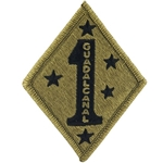 USMC Former Wartime Service Shoulder Sleeve Insignia in OCP / MultiCam® / Scorpion with Velcro®