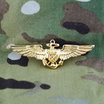 Badge, Qualification, Aviation, Flight Officer, Astronaut, U.S. Navy