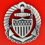 Badge, Qualification, Officer in Charge (Afloat), Enlisted Personnel U.S. Coast Guard