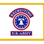 Army Recruiting Advertising Flag