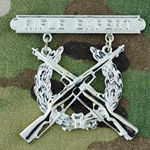 Badge, Qualification, Rifle, U.S. Marine Corps, Pendant and Suspension Bar