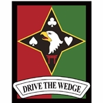 "129th Combat Support Battalion, ""Drive the Wedge"""