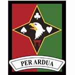 "2nd Battalion, 44th Air Defense Artillery Regiment, ""PER ARDUA"""