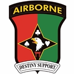 "101st Soldier Support Battalion, ""Destiny Support"""