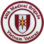 44th Medical Brigade, Vietnam Patches