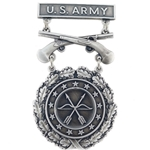 Badge, Qualification, Excellence in Competition, Rifle and Pistol U.S. Army