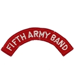 Fifth Army Band Tab, A-1-217