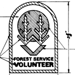 Forest Service, Volunteer, A-1-580