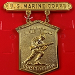Badge, Qualification, Annual Rifle Squad Combat Practice Competition, U.S. Marine Corps, MIL-DTL-3628/44G