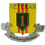 50th Anniversary Vietnam Veteran, Pins