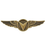 Badge, Unmanned Aircraft System Operator, USMC, MIL-DTL-3628/277