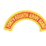 A-1-1085, 44th Army Band Tab