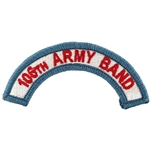106th Army Band ARANG Tab, A-1-1128