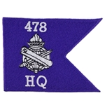 Civil Affairs Guidons Patches