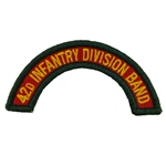 42nd Infantry Division Band Tab, A-1-1132