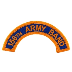 156th Army Band Tab, A-4-1067