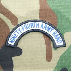 94th Army Band Tab, A-1-1053