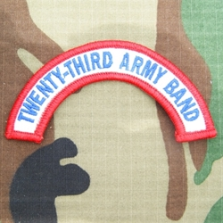 23rd Army Band Tab, A-1-1009